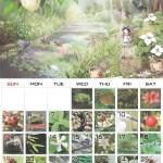 一日一種_カレンダー_6月